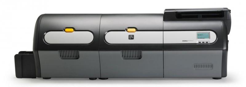带有覆膜机的 ZXP 系列 7